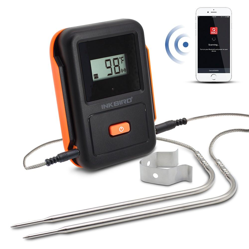 New Product Inkbird Ibt-2xb Digital Wireless Meat Grill ...
