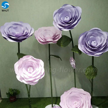 Fashion handmade artificial flowers and leaves