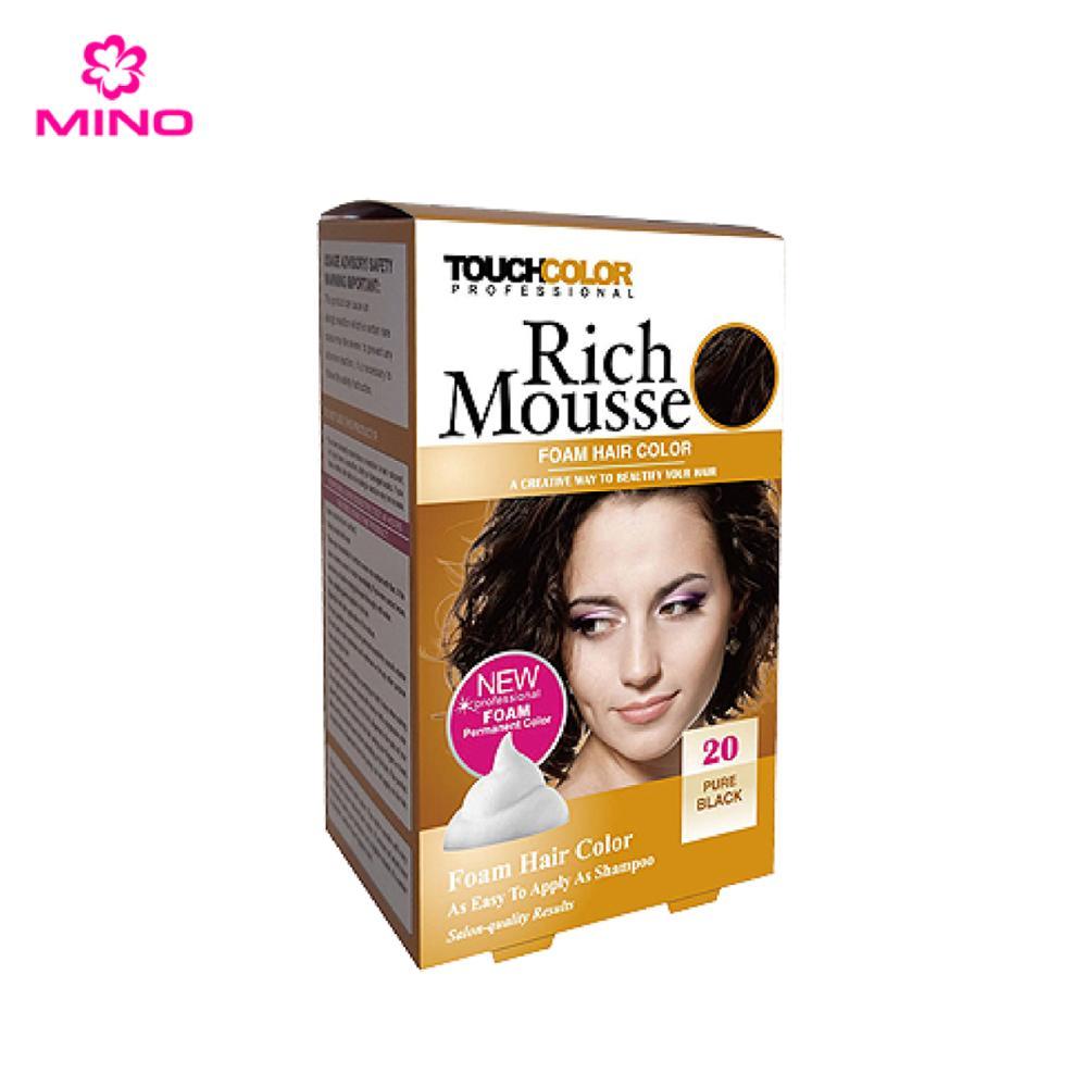 Touchcolor Rich Mousse Non Allergic Hair Dye Color Buy Non