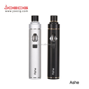 Joecig newest e cig All In One battery e cigarette with LED vapor smoke