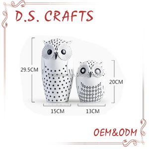 new style Polyresin owl statue decoration figure