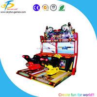 Amusement bike racing game machine Thunderbolt Motor racing bike game