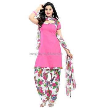 Indian Market Las Dress Material With Price