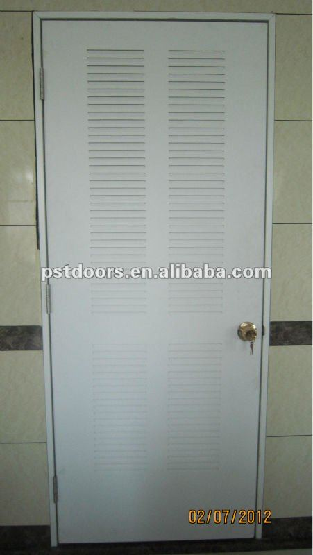 steel door for bathroom,steel ventilation Warehouse door