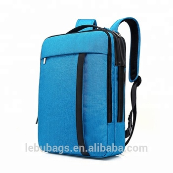 La Plazeite New Design Custom Computer Bag College 16 Inch Laptop Usb Backpack With Charger