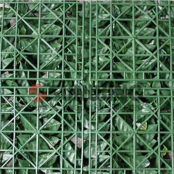 12 pieces 50x50cm outdoor artificial hedge retractable fence privacy screen