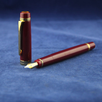 Jiangxin rubber tip carved fountain pen for America market