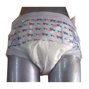 Low price OEM brands of disposable cheap adult cloth diaper factory in China