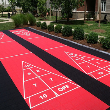 Delicieux Easy To Install Home Backyard Outdoor Shuffleboard Court