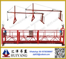Factory price machine zlp630 steel scaffolding rope suspended platform