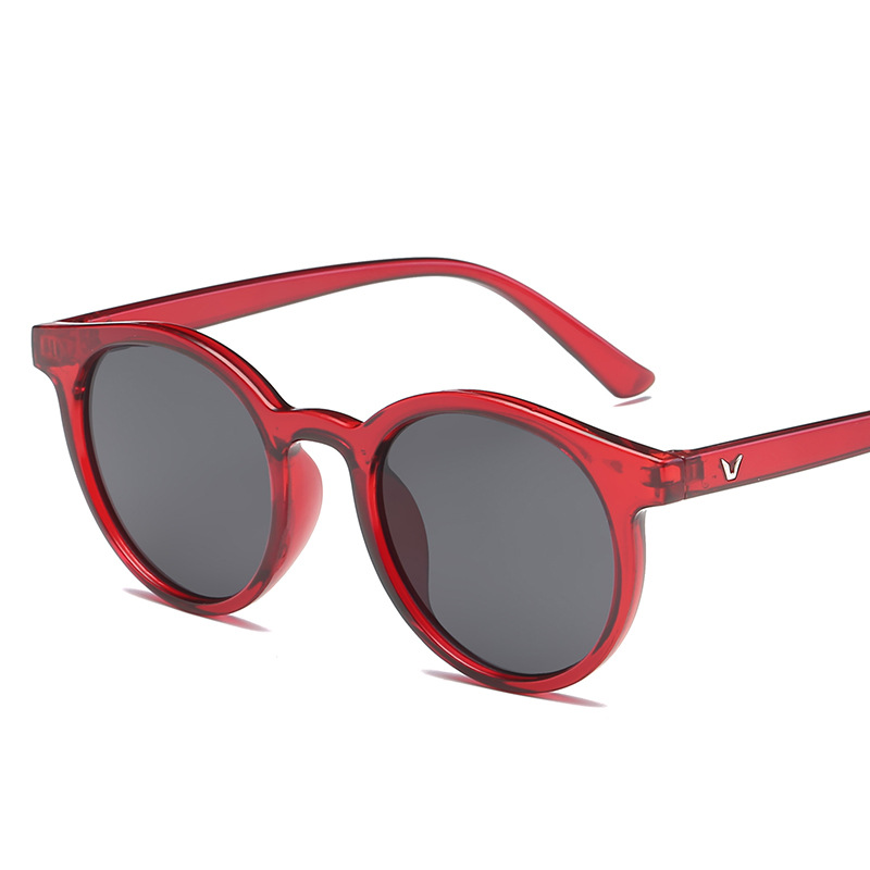 Latest Fashion Oversize Two Color Neon Shades Sunglasses