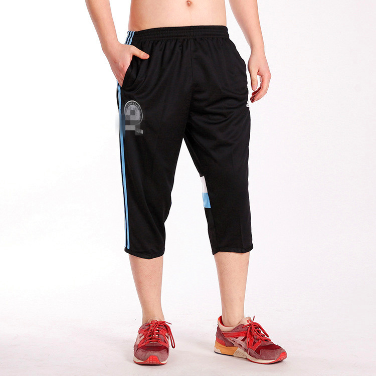 Buy Men Track Sweats 3/4 Pants Sweatpants Croped Pants Trousers ...
