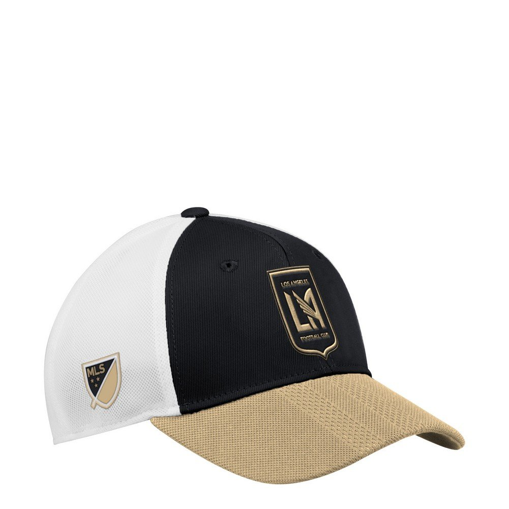 Get Quotations · adidas Los Angeles Football Club Hat Authentic Structured  Adjustable Trucker Hat a81a52a782e4