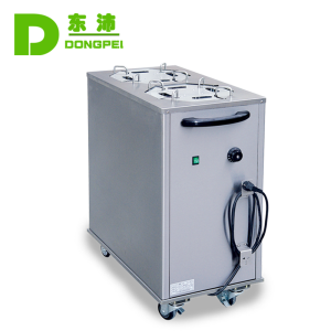 Western Commercial restaurant plate warmer,Stainless steel Electric warm plate cart machine