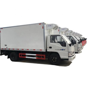 BEST Quality 3 tons 5 tonne JMC refrigerated truck 4x2 Frozen food transport vehicle
