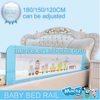 120/150/180 Adjustable and folding Baby Safety Bed Rail for Child bed safety rail