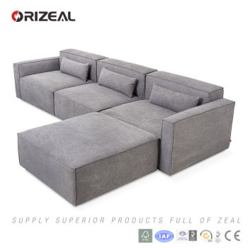 Wonderful ORIZEAL HIGH END SIMPLE SECTIONAL SOFA (OZ MS 6012B)
