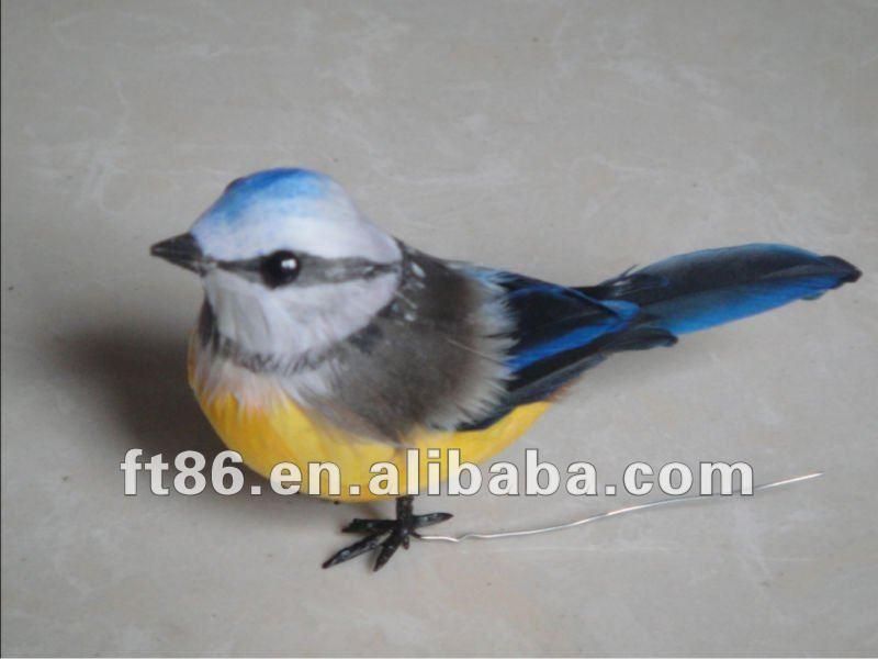 artificielle oiseau bleu figurine lifelike oiseau figurine jardin d coratif oiseau autres. Black Bedroom Furniture Sets. Home Design Ideas