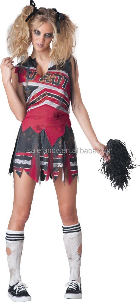 Ladies Halloween Zombie Cheerleader Costume Party Outfits Qawc-3356 - Buy Cheerleader CostumeHalloween CostumeZombie Costume Product on Alibaba.com  sc 1 st  Alibaba & Ladies Halloween Zombie Cheerleader Costume Party Outfits Qawc-3356 ...