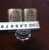 crystal quran crystal book islamic gifts MH-LP033