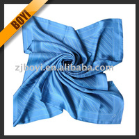 Fashion Screen Printed Twill Scarf Silk