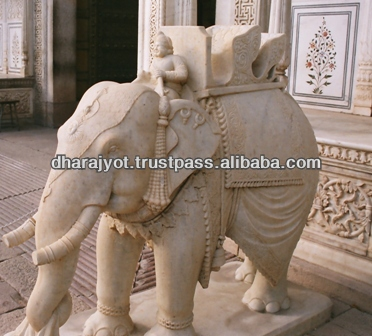High Quality Cheap Life Size Sandstone Statue Elephant Sculpture
