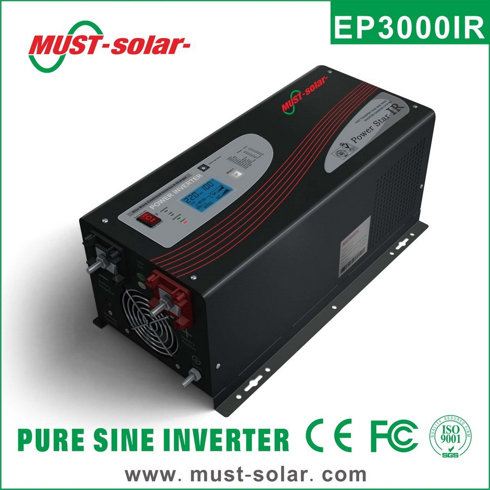 <Must Solar> EP3000 Series 1-6kw Low frequency Pure sine wave air conditional hybrid Power Inverter