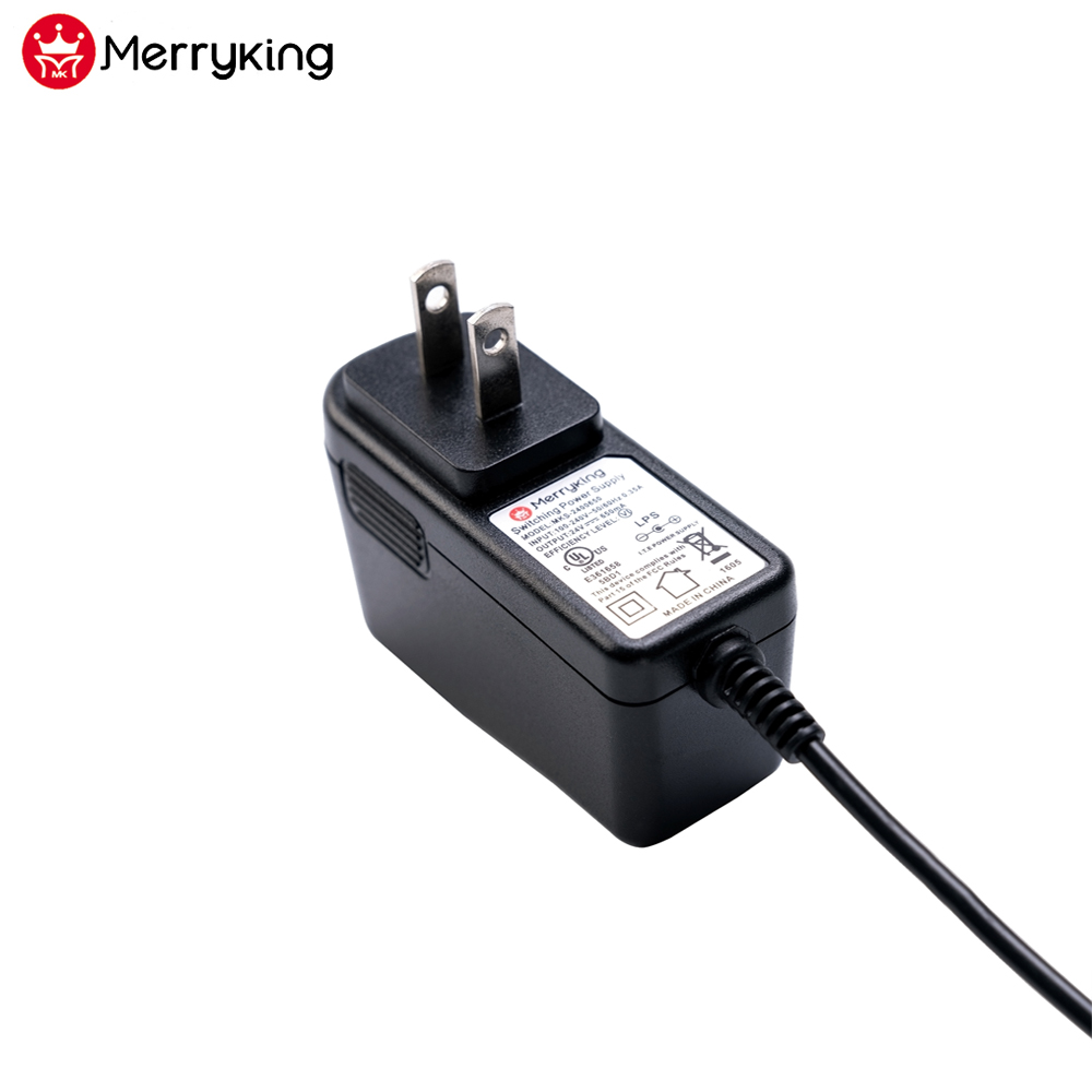 Free samples US plug DOE VI ac dc adapter power adapter 9V 1500mA for Neon light