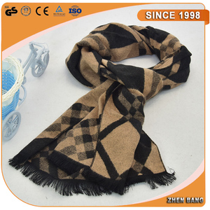 wholesale Multi Color printed wool Scarf turban hijab cashmere scarf