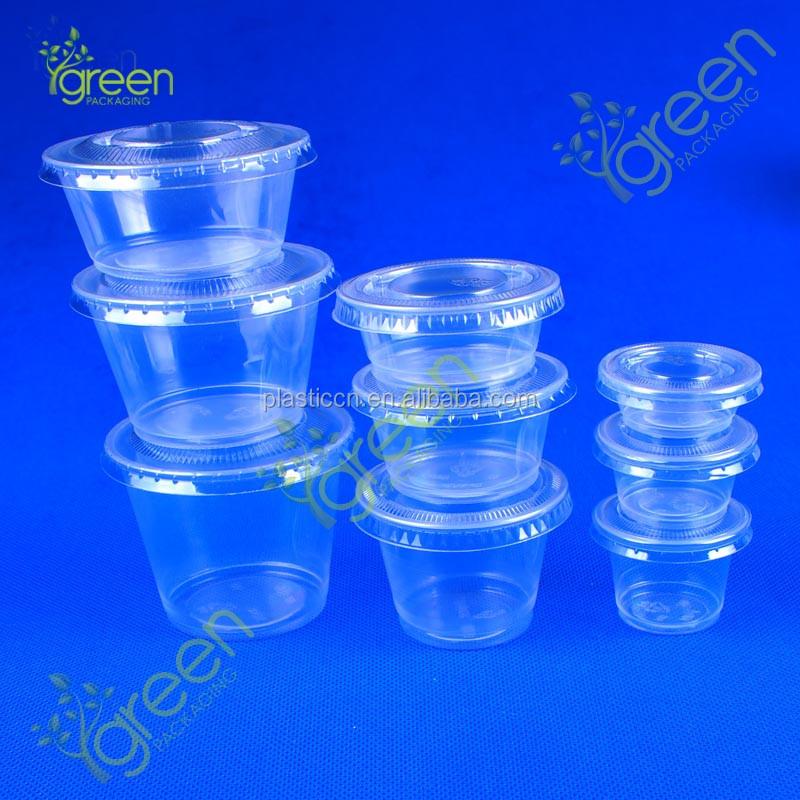 Wholesale plastic mini plastic dessert cups buy mini cup for Small plastic cups