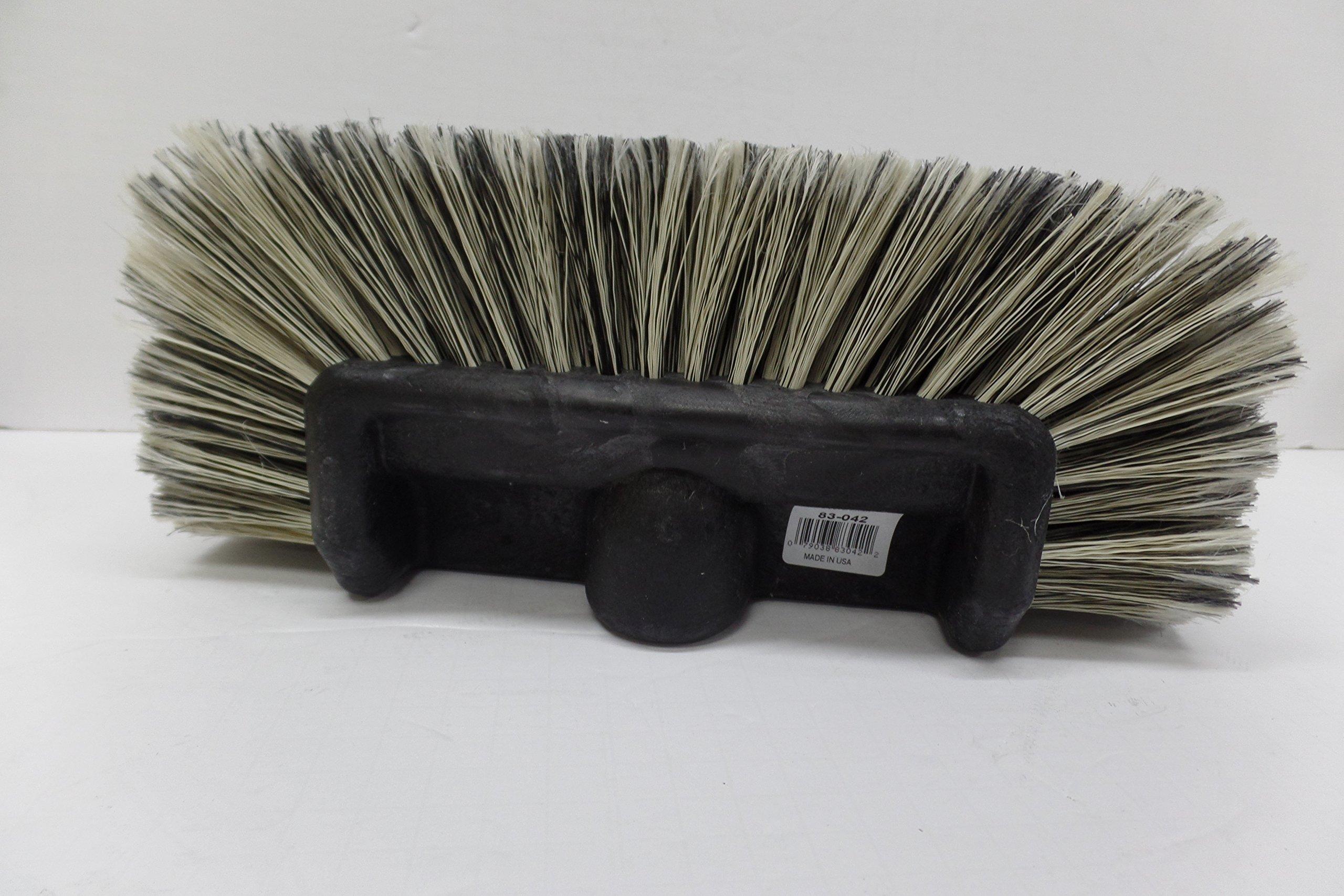 5 level soft bristle truck brush black