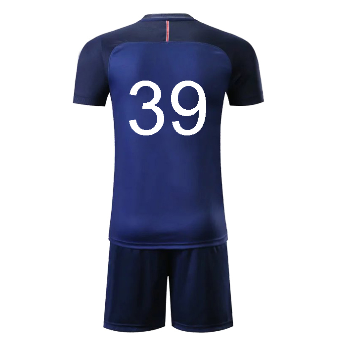 5dbcd4cfaa9 Custom Psg Thai Quality Cheap Soccer Team Jersey Set