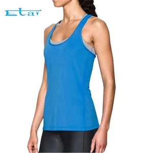 Cheap Promotion High Quality Body Warmer Custom Bodybuilding Stringer Vest Woman Tank Top