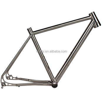 cyclocross titanium road bike frame for 142*12 thru axle dropout