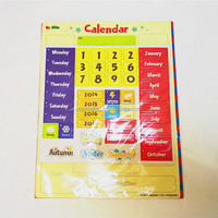 Fridge Magnets Type custom magnetic calendar, magnetic dry erase calendar