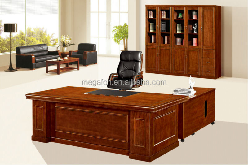 Chinese wood office table furniture boss desk setfohs for Incredible modern office table product catalog china