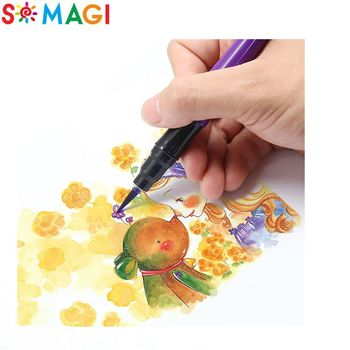Alat Air Sikat Pena Kaligrafi Gambar Dengan Lebih Lembut Tip Untuk Sketsa Art Marker Buy Alat Gambar Air Kaligrafi Sikat Pena Kuas Cat Air