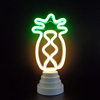 Whosale USB Battery Green Light Neon Lamp Holiday Light Cactus Shaped LED Night