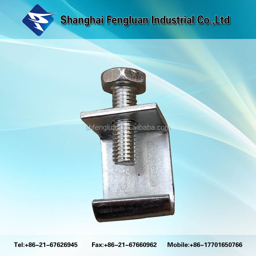 Stainless steel /galvanized steel beam clamp