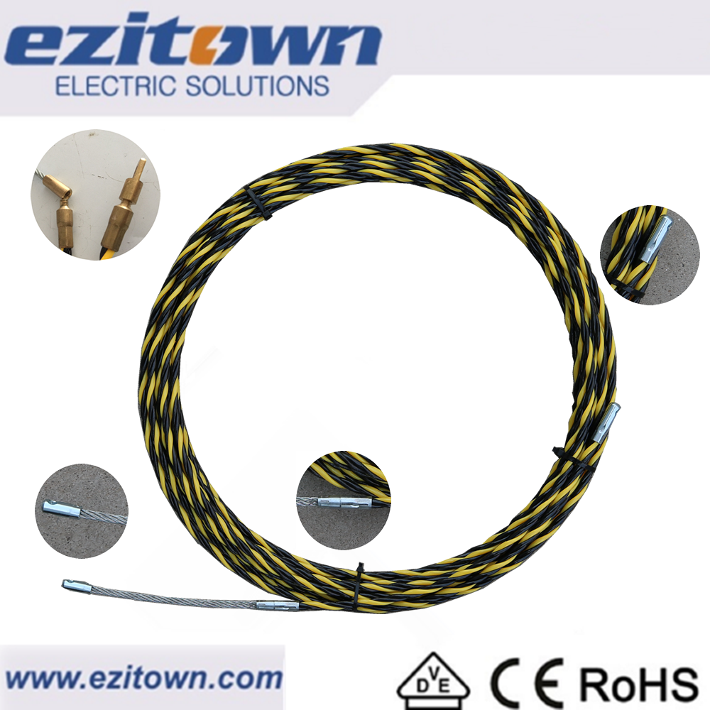 St15c Nylon Yellow Wheel Fish Tape Cable Pulling Equipment ...