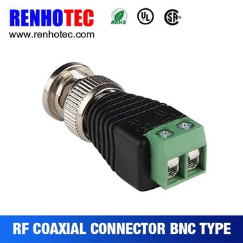 amazing price bnc to rj45 balun converter connectors for wires cable rh alibaba com
