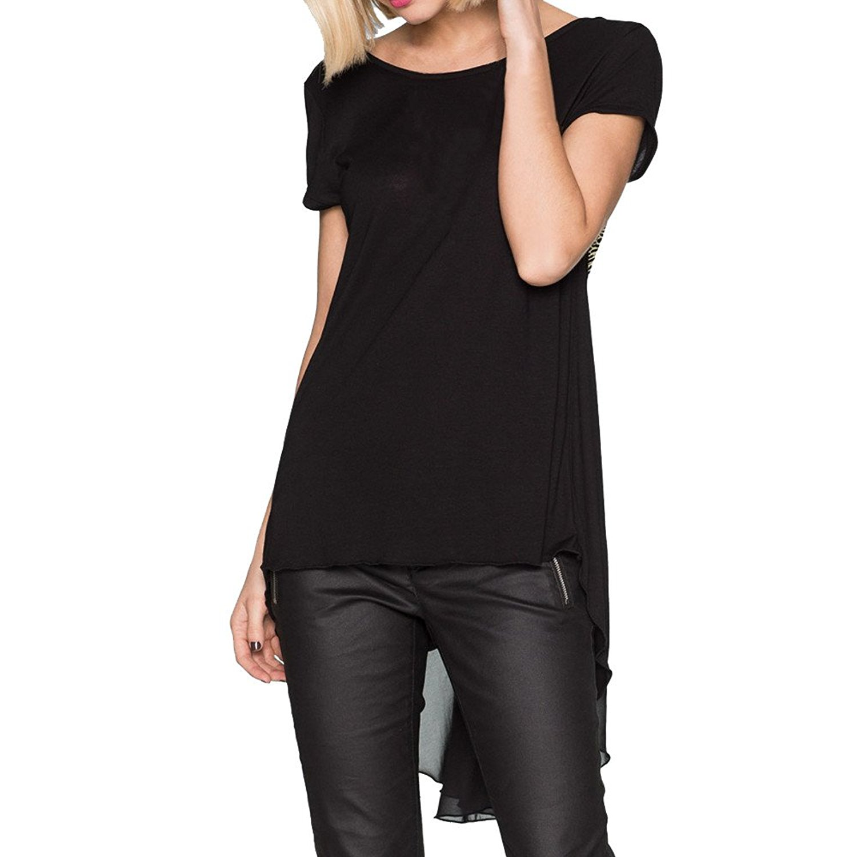 Cheap Wing Sleeve Top Find Deals On Line At Alibabacom Jfashion Korean Style Chiffon Spandek Blouse Get Quotations Jinjin Womens Women Print Loose Splice Short Fashion Casual