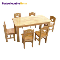 Cute Kids wooden table children furniture for sales