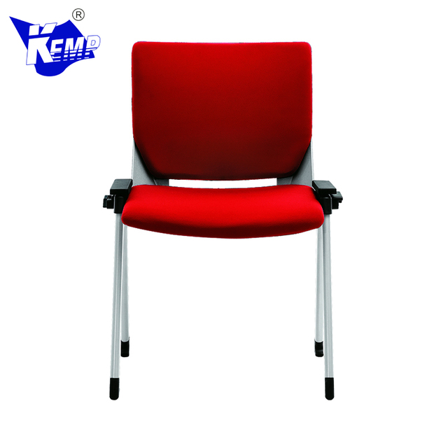 Ergonomic Executive Fabric Stackable Training Conference Student Chair For Office
