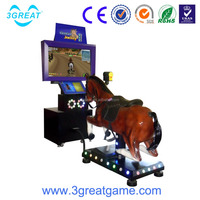 Simulator Racing game for young man