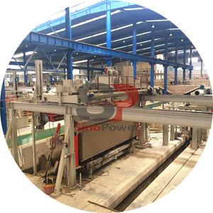 full automatic aac plant/ Germany Technology aac production line/ automatic aac block making manufacturer
