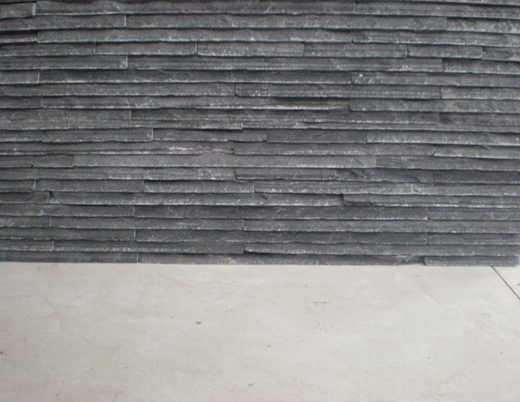 Natural Culture Manufactured Slate Stone Wall Faced Panel