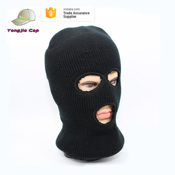 Custom Balaclava Knitting Pattern 3 Hole Balaclava Custom Ski Mask