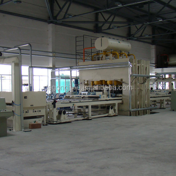 Automatic Short cycle laminating machine/ melaminepress machine