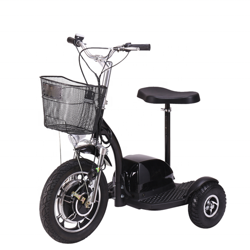 500W 48V Adult Electric Tricycle with big front wheel